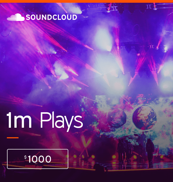 Buy 1,000,000 Soundcloud Plays - High Quality Service | PRandPromo