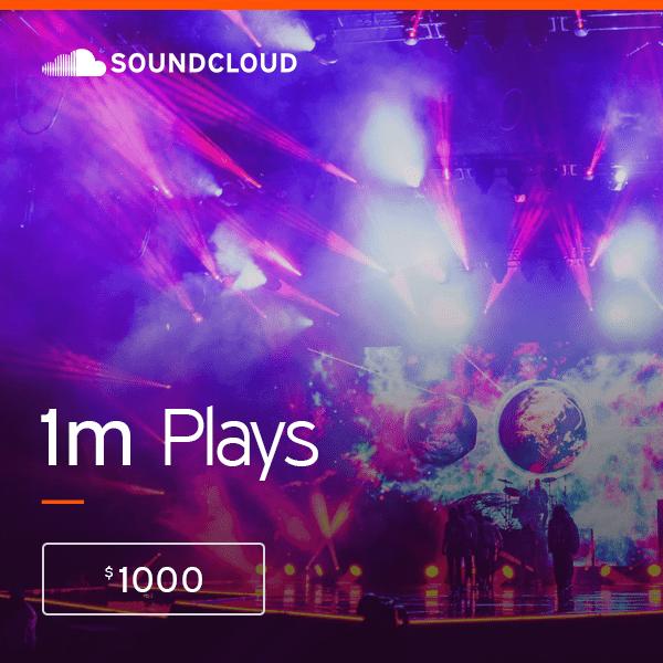 Buy 1,000,000 Soundcloud Plays – High Quality Service | PRandPromo
