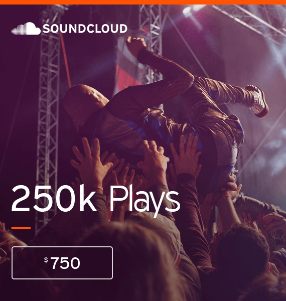 Buy 250,000 Soundcloud Streams - High Quality Service | PRandPromo