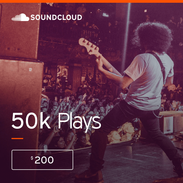 Buy 50 000 Soundcloud Streams