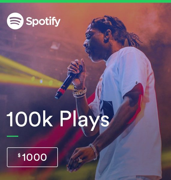 Buy 100.000 Spotify Streams - High Quality Service | PRandPromo
