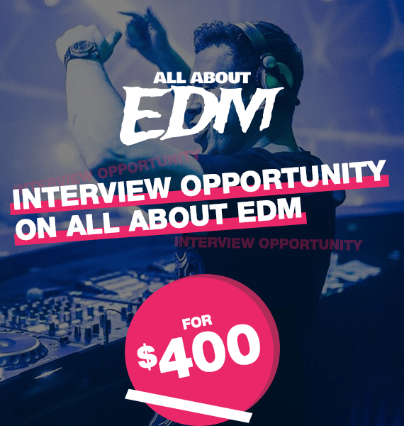 Interview Opportunity on All About EDM - PRandPromo