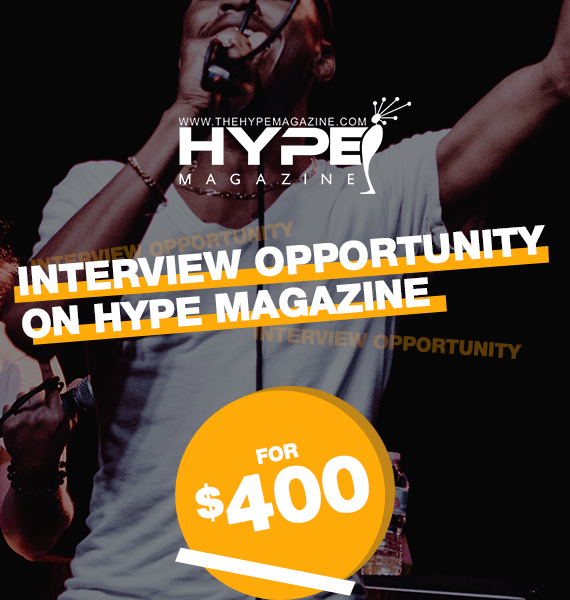 Interview Opportunity on Hype Magazine - PRandPromo Offers