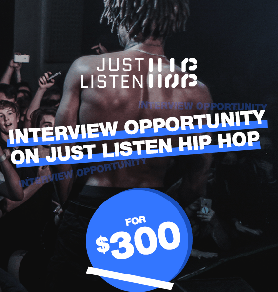 Interview Opportunity on Just Listen Hip Hop - PRandPromo