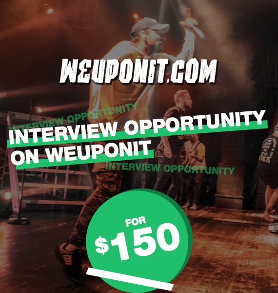 Interview Opportunity on We Up On It - PRandPromo