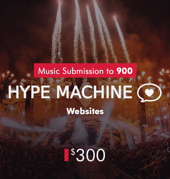 Submission To 900 Hype Machine Websites - PRandPromo