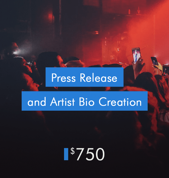 Press Release and Artist Bio Creation - PRandPromo