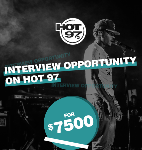 Interview Opportunity on Hot 97 - PRandPromo