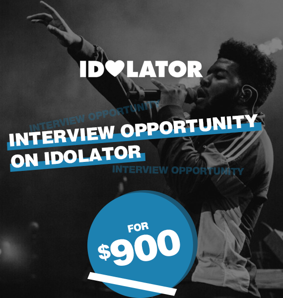 Interview Opportunity on Idolator - PRandPromo