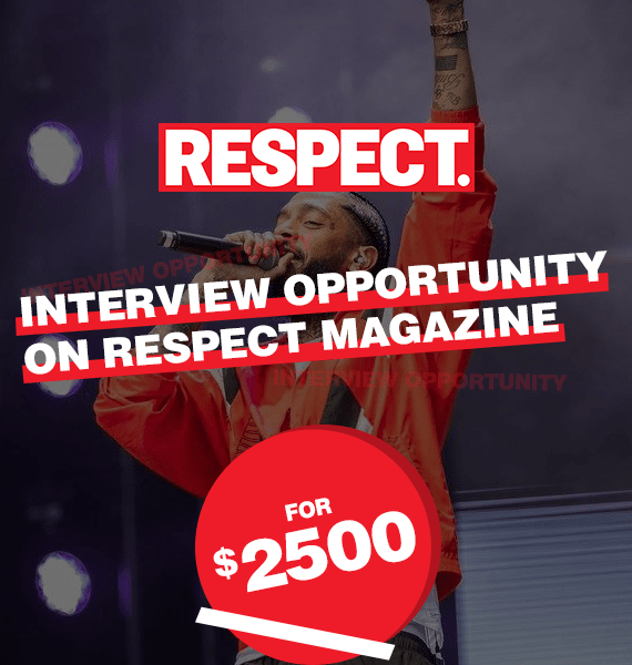 Interview Opportunity on Respect Magazine - PRandPromo