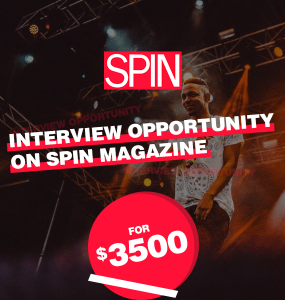 Interview Opportunity on Spin Magazine - PRandPromo