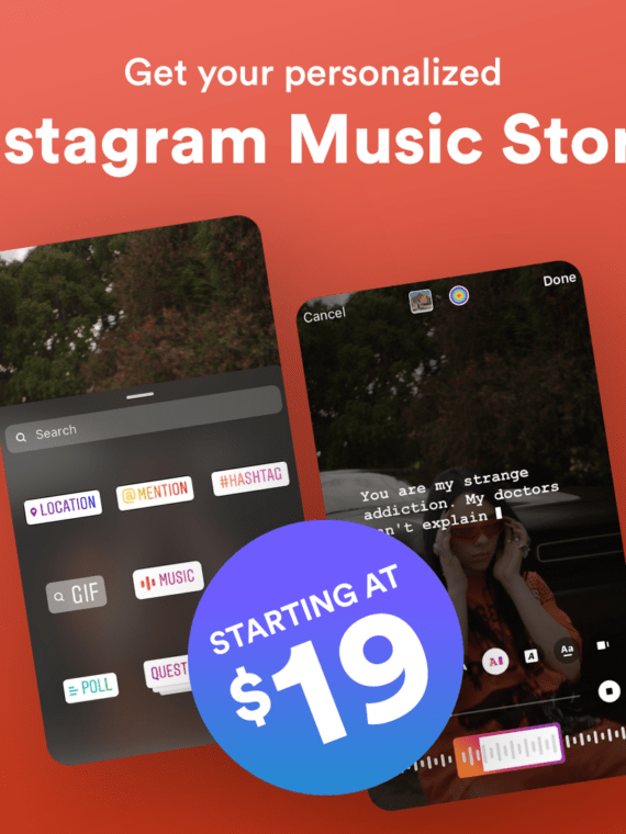 Instagram Music for music artists pr and promo - prandpromo